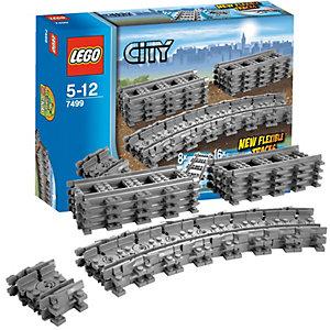 LEGO CITY TRAINS FLEXIBLE RAILS 7499 City Lego Klocki