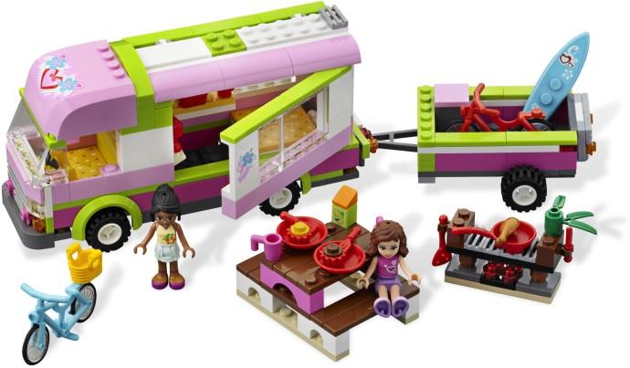 Lego Friends Samochód Kempingowy 3184 Friends Lego Klocki