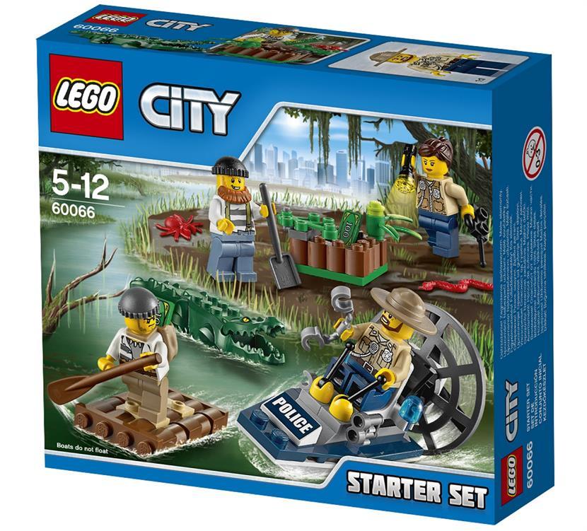 Lego City Policja Z Bagien Zestaw Startowy 60066 City Lego